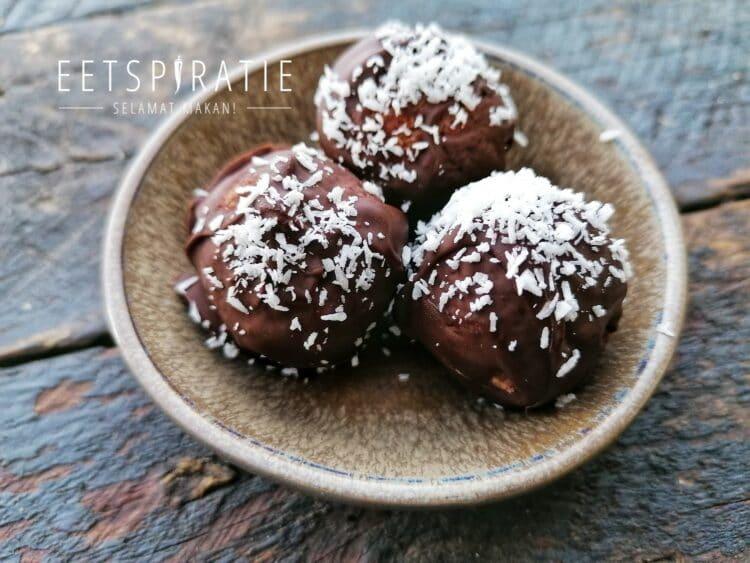 Chocolade kokosballetjes