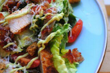 Caesar salade Jamie Oliver