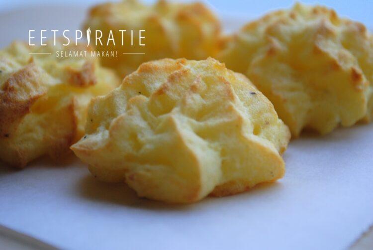 Aardappeltoefjes pommes duchesse maken