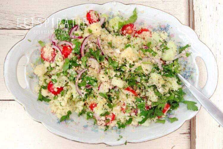 Couscous salade met verse kruiden