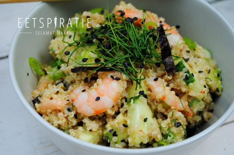 Quinoa sushi bowl