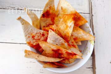 Homemade tortillachips