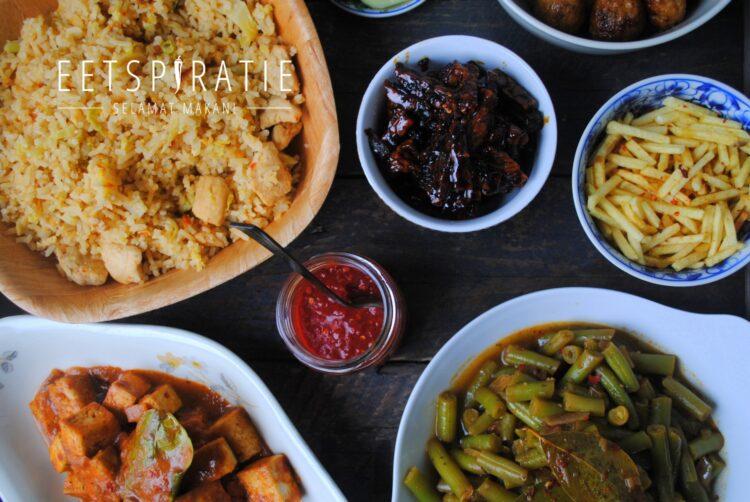Indische rijsttafel maken