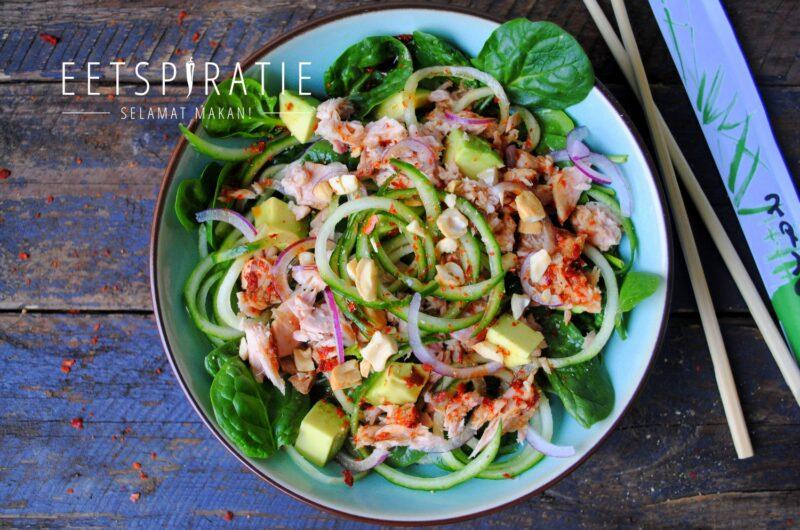 Thaise salade met tonijn