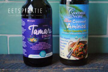 Alternatieven voor ketjap en sojasaus