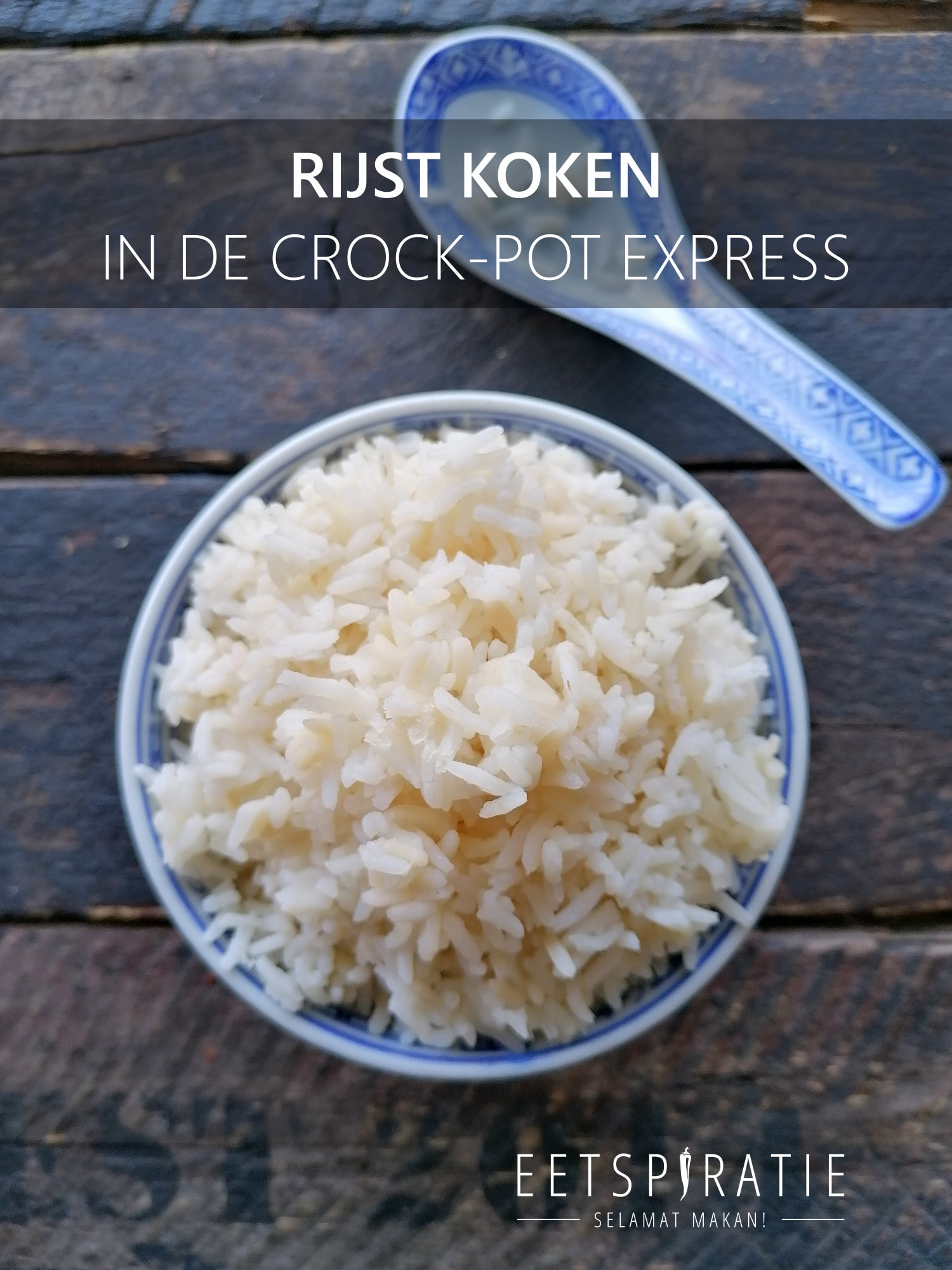 Rijst koken in de Crock-Pot Express
