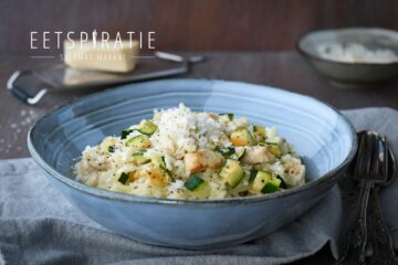 Risotto met kip en courgette uit de Crock-Pot Express
