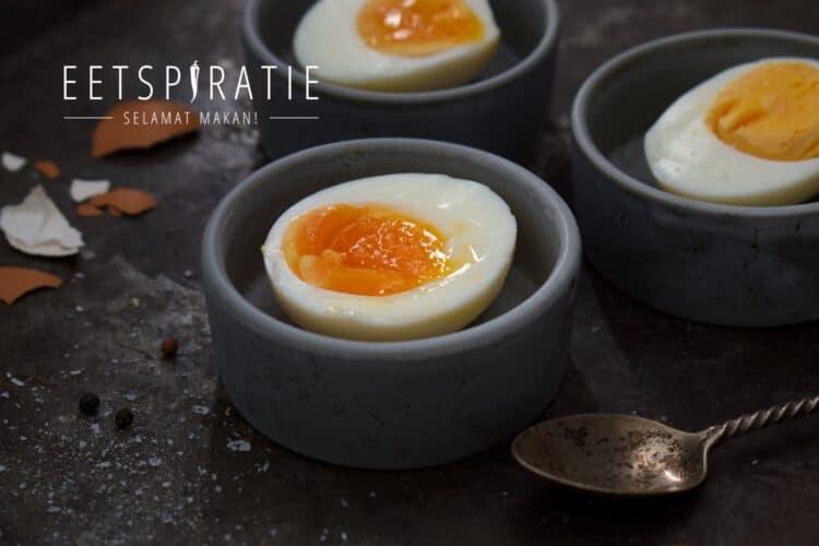 Eieren koken in de airfryer