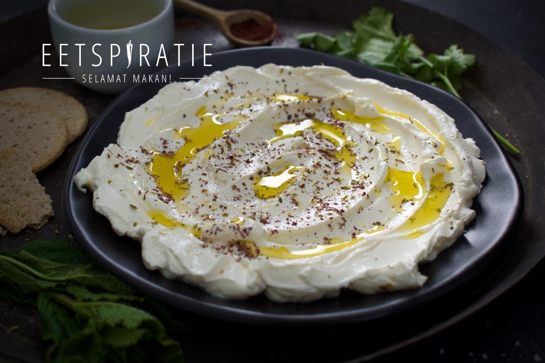 Labneh (yoghurtdip met kruiden)