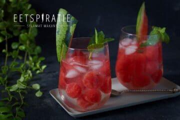 Watermeloen met tonic