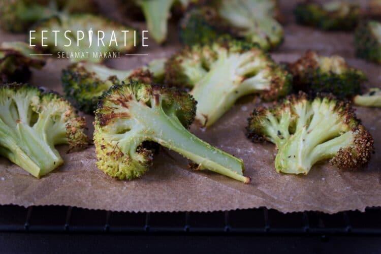 Geroosterde broccoli uit de oven of airfryer